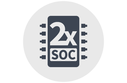 <strong>DUAL-CORE SOC</strong>